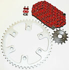 1996-2004 HONDA XR400R 400 R RED CHAIN AND SPROCKET 15/45 110L