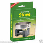 Coghlans Camping Folding Solid Fuel Pocket Stove Emergency Hike W 24 fuel tabs