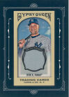 Derek Jeter 2011 Topps Gypsy Queen Framed Mini Authentic Game Used Jersey card