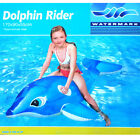 Kids/Children Inflatable Float Dolphin seat Rider/Ride on Water swimming pool