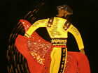 Spanish Matador Bull Fighter Black Velvet Uinque Vintage Art Deco Sequined suit