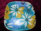 VINTAGE ART POTTERY RAYMOR ITALY OLD HAND PAINTED ITALIAN ASHTRAY DISH FLOWERS