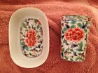 Soap Dish Takahashi Japan Floral Porcelain San Francisco