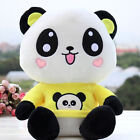 Cute China Treasure Panda Soft Stuffed Animals Doll Plush Toy Kids Gift Yellow