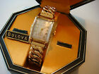 BULOVA Treasurer Mens Watch - 1949 - True MINT Condition - With Original Tags