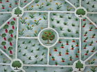 New Hoffman Int'l Green Garden Plot - Accent - Screen Print Cotton Fabric
