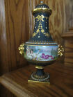 Antique 19c Royal Vienna Nude Psyche And Cupid Cabinet Vase Rare Item