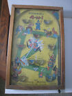 Vintage 1930's Poosh-M-Up Jr.; 4-in-1 Bagatelle Baseball Pinball Game; Works