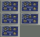 COLLECTION OF 5 LOT OF FIVE 1999 PROOF WASHINGTON STATE QUARTERS SET! 25 COINS!