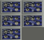 COLLECTION OF 5 LOT OF FIVE 2003 PROOF WASHINGTON STATE QUARTERS SET! 25 COINS!