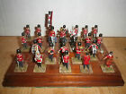 28mm-British royal band,with Queen Metal hand-painted 24 pcs soldat lead