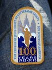 Boy Scout LDS 100 Years 1913-2013 Patch BSA