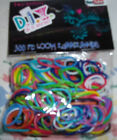 DIY 300 PC Loom Rubber Bands Variety of Colors