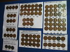 LINCOLN WHEAT CENT BAG #55 1909 1910 1915 1916 +1943-S 20