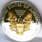 1 oz Silver Eagle XMAS SPECIAL Gilded Proof Like eagle GET ONE NOW