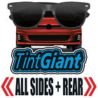 TINTGIANT PRECUT ALL SIDES + REAR WINDOW TINT FOR GEO TRACKER 4DR 96 97