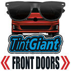 TINTGIANT PRECUT FRONT DOORS WINDOW TINT FOR GEO TRACKER 4DR 96 97