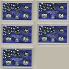 COLLECTION OF 5 LOT OF FIVE 2004 PROOF WASHINGTON STATE QUARTERS SET! 25 COINS!