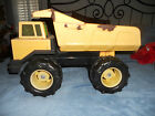 1980's -90'S Yellow Classic Metal Tonka  Dump Truck Toy in Vintage Condition