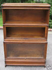RARE DEEP BASE OAK GLOBE WERNICKE BARRISTER BOOKCASE book case stacking section