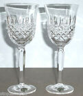 Waterford Crystal Kelsey Goblet Glasses SET OF 2 New