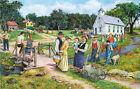 THE COUNTRY CHURCH     1000 Pc Puzzle   Scenic Country    SunsOut