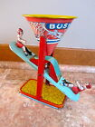 Vintage~ Chein~ Tin Litho ~Busy Mike See Saw Sand Toy 1930's~Boys