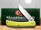 CASE XX Yellow Synthetic Sodbuster Pocket Knife Knives