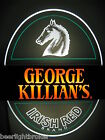 VTG 1983 COOR'S KILLIAN'S IRISH BEER HORSEHEAD EDGE LIGHT MOTION BAR PUB SIGN A+