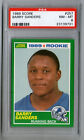 BARRY SANDERS 1989 SCORE ROOKIE RC CARD PSA NM-MT 8!