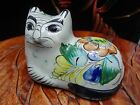 Ken Edwards Style Mexico Pottery Cat Figurine