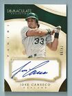 JOSE CANSECO 2014 PANINI IMMACULATE COLLECTION AUTOGRAPH AUTO 99