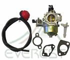 Carburetor Fits Honda GX390 13HP With Primer Bulb Fuel Line  Gaskets