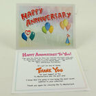 TY Beanie Baby Thank You Letter Card for MC Anniversary Bear #3 (Card only)