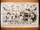 1956 ICN Display Poster 12x19 Mickey Mantle Stan Musial Duke Snider Ted Williams