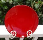Waechtersbach Germany Christmas Tree Pattern Red Saucer Plate for Jumbo Cup HTF