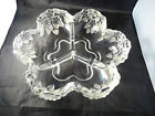 Mikasa Carmen 3 part divided Crystal Relish Dish by Walther Glas, W. Germany