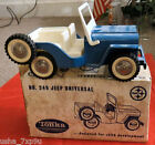 4charity* TONKA 1962 Pressed Steel JEEP UNIVERSAL w/ Original Box 249