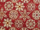 New Snowflakes Fabric BTY Snow Winter Holiday Christmas G304