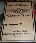 RARE Gold Edition 1999 Wings of Texaco 1927 Ford Tri-motored Monoplane