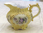 Vintage French Limoges Porcelain Creamer. Large. Scalloped. Beautiful. Mint!
