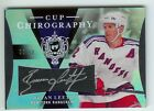2007-08 THE CUP BRIAN LEETCH AUTO JERSEY 5 50 RANGERS HOF CHIROGRAPHY #CC-BL