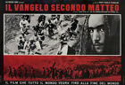 The Gospel According to St Matthew 1964 Italian Fotobusta Poster