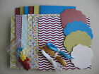 STAMPIN UP CARD KIT PAPER COLLECTION FOR 6 CARDS