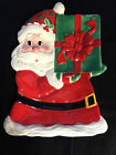 NIB Fitz and Floyd Sweet Holiday plate -Christmas - Santa with gift - free ship