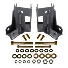 Synergy Mfg Rear LCA Skids With Integrated Shock Mounts 07 18 Jeep Wrangler JK