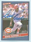 DAVE PARKER 2004 DONRUSS TIMELINES RECOLLECTION COLLECTION AUTOGRAPH AUTO 23