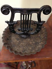 Vintage Black Cast Iron Boot Scraper With Mud Tray**PRICE REDUCED**