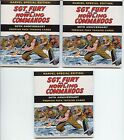 3 packs Sgt Fury & His Howling Commandos 50th Premium Card Pack 5 cards Sketch