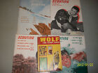 4 Scouting Magazines Plus Wolf Cub Scout Book